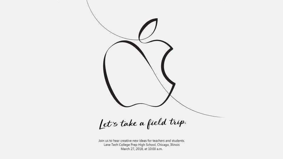 Apple Keynote am 27.03.2018