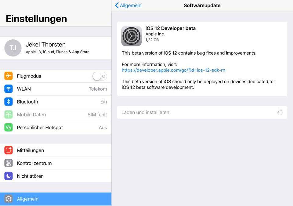 Was hat Apple gerade präsentiert – Keynote  am 4.6.18 – iOS12