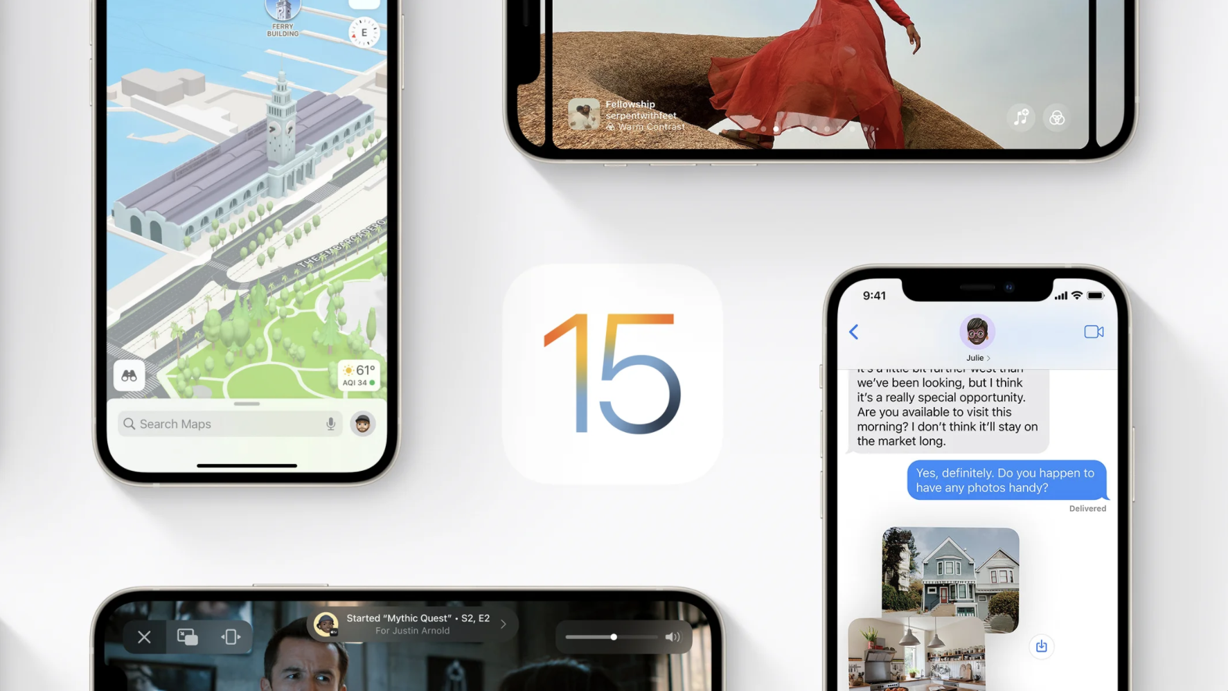 iOS 15 kommt am Montag, dem 20.